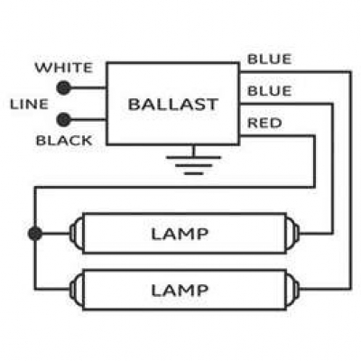 120v wiring diagrams lighting how to replace fluorescent light ballast #10